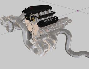 lsxswaptheworld 3D Twin Turbo 454 LSX