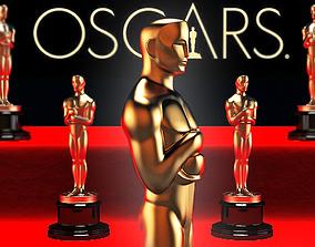 Oscar statuette and bonus 3D printable model