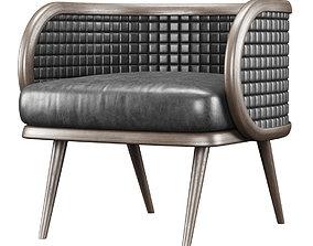 Victoria leather restaurant chair NC17 3D