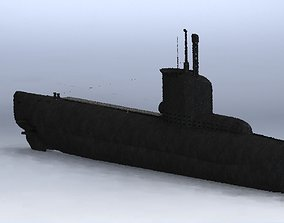 vehicle 3D model Submarine