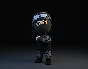 3D asset Elite Force