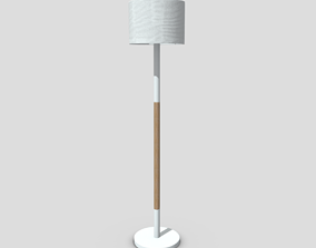 3D asset Standing Lamp