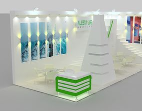 Alesta Exhibition Design 3D