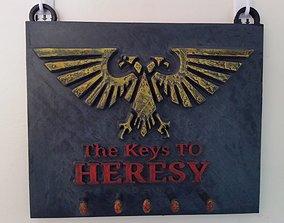 Heresy key hanger 3D print model