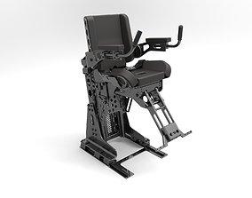 Heavy Shock Absorber Seat 3D