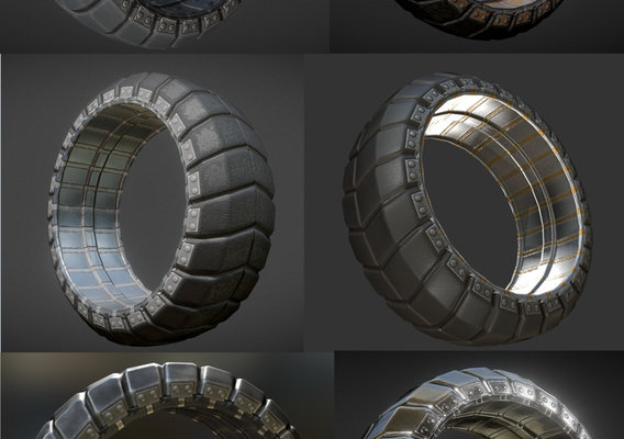 Futuristic Tires