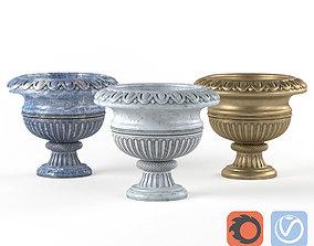 Decorative vase for a flower pot Flowerpot 3D model
