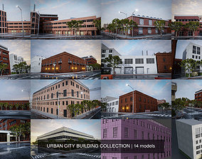 URBAN CITY BUILDING COLLECTION 3D model