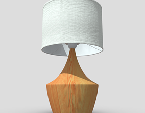 3D model realtime Table Lamp 4