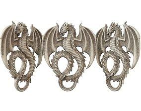 centaur 3D print model dragon