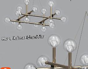 Huge Kalmar Chandelier 3D