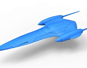 Diecast model Naboo Queens Royal starship Scale 1 to