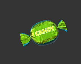 Wrapped Candy 3D asset