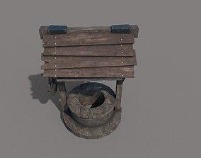 Old well 3D asset
