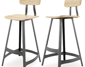 3D model Yardbird stool - Sean dix bar