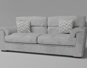3D Simple Sofa Two seat sofa