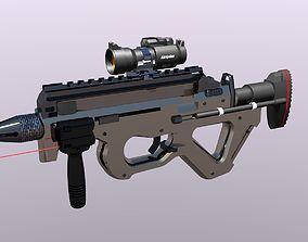 The cz805 is an assault rifle 3D asset