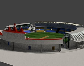 Cricket Stadium 3D