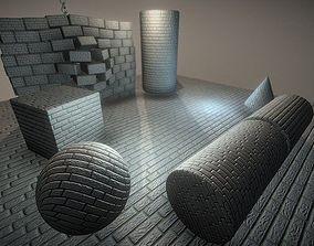 3D model Brick Wall 2 - Texture Set 16