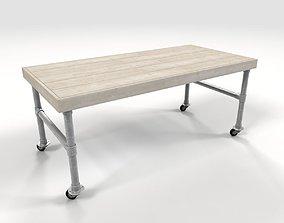 Scaffold table 3D model