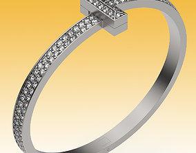 Bracelet T Wide Full 3D printable model