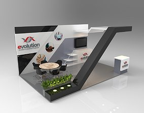 Booth Exhibition 2 3D