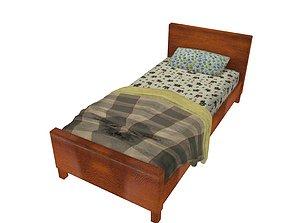 Bedcloth 92 3D asset