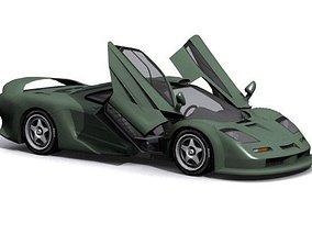 3D model McLaren F1 GT1-R