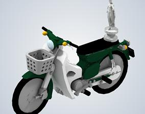 James Mays motorcycle Top Gear Vietnam 3D print model