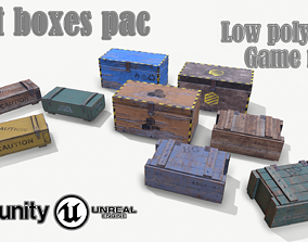 3D asset Loot Boxes pac