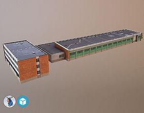 3D model game-ready Storage3 LHBP