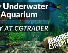 3D Underwater Fish Aquarium