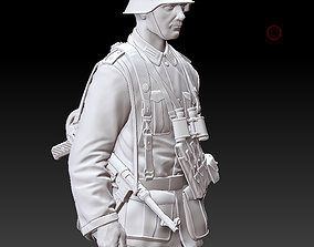 3D printable model German officer