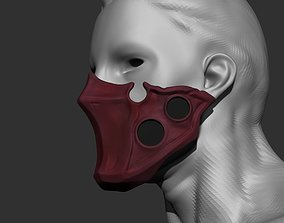 3D printable model Tokyo Ghoul Tatara Cosplay Mask Stl