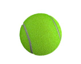 3D model ball Tenis Ball