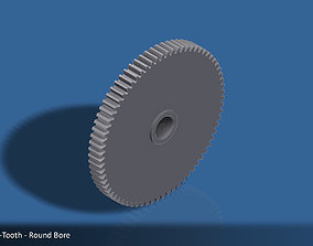 3D print model 72-Tooth Spur Gear 03