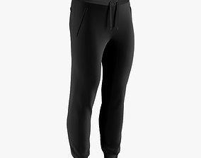 mockup 3D model sweatpants male