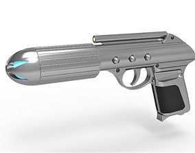 3D Standard issue agent sidearm J2 from the movie Men in