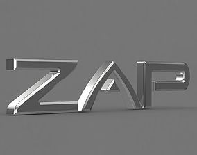 zap logo 1 sumbol 3D model