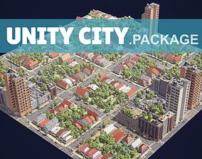 City Unity A1R1R2R9 3D asset