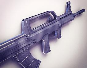 3D QBZ-95 Assault rifle Hi-Res