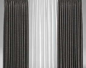 3D realistic Curtains