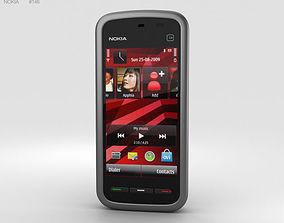 3D model Nokia 5230 Black