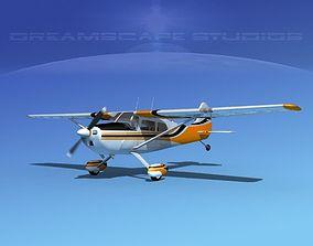 Cessna 170 V01 3D model