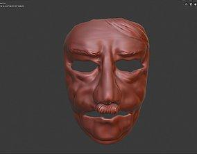 3D printable model Opa Adi Carnival face mask