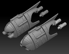 QUEEN HANDMAID TRANSPORTER 3D print model