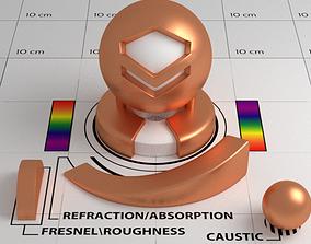 Copper Shader 3D model