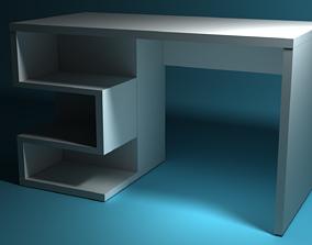 3D model game-ready Minimalist Desk