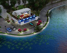 Villa C7 - Sketchup dwg lumion render picture 3D