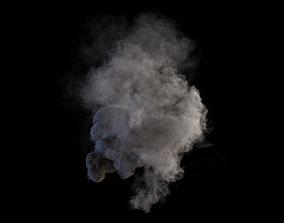 Smoke Gush VDB 3D
